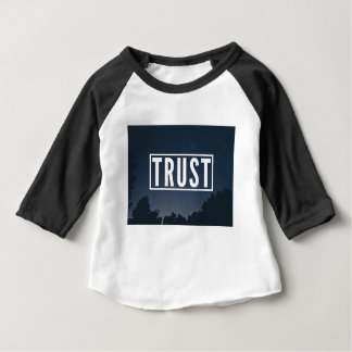 Trust hipster typography baby T-Shirt