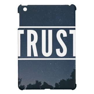 Trust hipster typography iPad mini cover