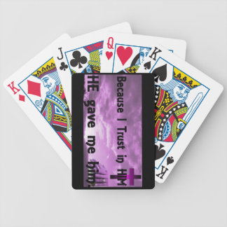 Trust in HIM Playing Cards