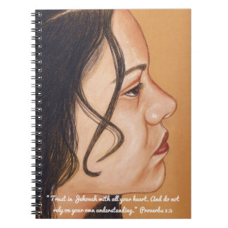 Trust in Jehovah Scripture Notebook