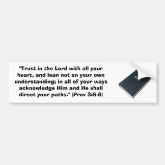 Trust in the Lord Bumper Sticker