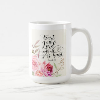 Trust In The Lord Classic White Mug