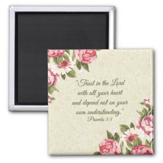 """Trust in the Lord"" Psalms Scripture Magnet"