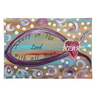 Trust in the Lord With All Your Heart Placemat
