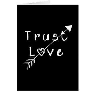 Trust Love Card
