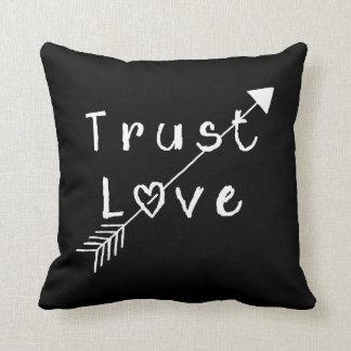 Trust Love Throw Pillow