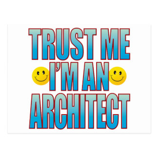 Trust Me Architect Life B Postcard