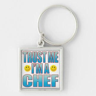 Trust Me Chef Life B Keychain
