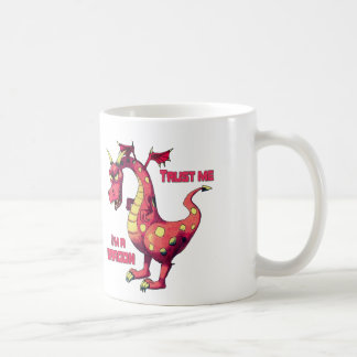 Trust Me Dragon Coffee Mug