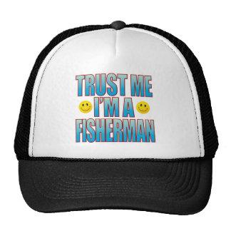 Trust Me Fisherman Life B Trucker Hat