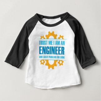 Trust Me I am An Engineer Baby T-Shirt
