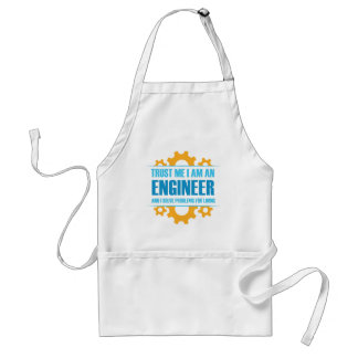 Trust Me I am An Engineer Standard Apron