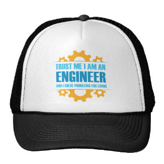 Trust Me I am An Engineer Trucker Hat