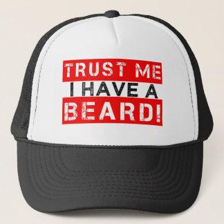 Trust Me I have a Beard funny men's hat