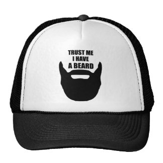 Trust Me I Have A Beard Trucker Hat