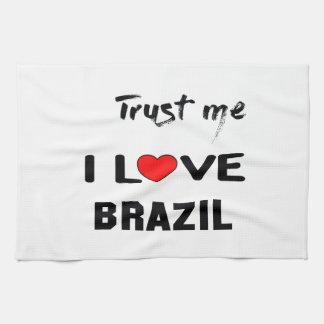 Trust me I love Brazil. Towel