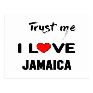Trust me I love Jamaica. Postcard