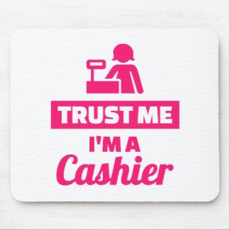 Trust me I'm a cashier Mouse Pad
