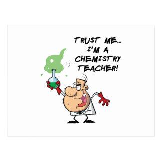 Trust Me I m a Chemistry Teacher Postcards