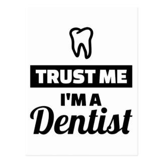 Trust me I'm a dentist Postcard
