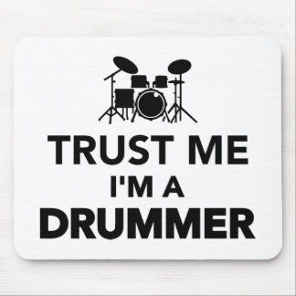Trust me I m a Drummer Mousepads