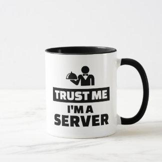 Trust me I'm a server Mug