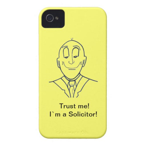 Trust me! I`m a Solicitor! Blackberry Bold Covers