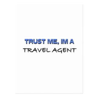Trust Me I m a Travel Agent Postcard