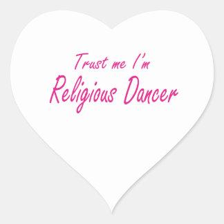 Trust me I m Religious Dancer Stickers