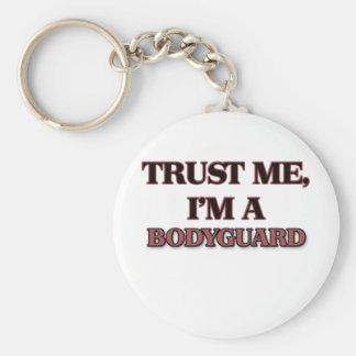 Trust Me I'm A BODYGUARD Basic Round Button Keychain