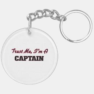 Trust me I'm a Captain Acrylic Key Chain