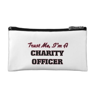 Trust me I'm a Charity Officer Cosmetic Bag