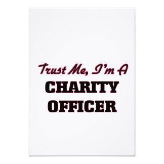 Trust me I'm a Charity Officer Card