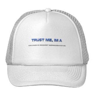 Trust Me I'm a Children's Resort Representative Hat