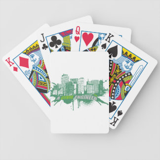 Trust Me I'm A Civil Engineer 2 Bicycle Playing Cards