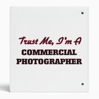 Trust me I'm a Commercial Photographer Binder