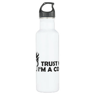 Trust me i'm a cook! 710 ml water bottle