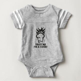 Trust me i'm a cook! baby bodysuit
