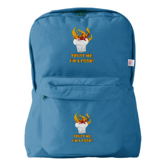 Trust me i'm a cook! backpack