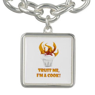Trust me i'm a cook! bracelets
