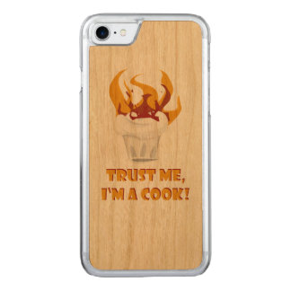 Trust me i'm a cook! carved iPhone 7 case