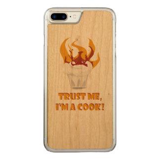 Trust me i'm a cook! carved iPhone 7 plus case