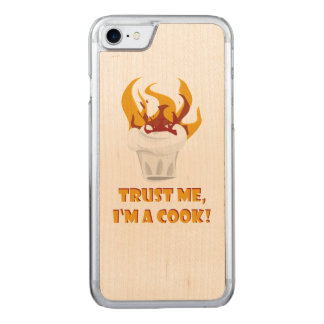 Trust me i'm a cook! carved iPhone 8/7 case