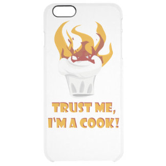 Trust me i'm a cook! clear iPhone 6 plus case