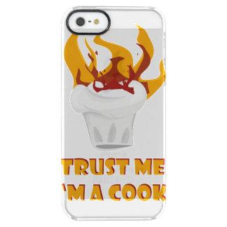 Trust me i'm a cook! clear iPhone SE/5/5s case
