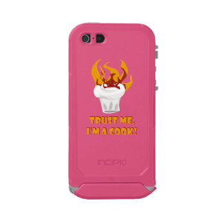 Trust me i'm a cook! incipio ATLAS ID™ iPhone 5 case