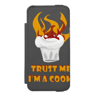 Trust me i'm a cook! incipio watson™ iPhone 5 wallet case