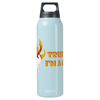 Trust me i'm a cook! insulated water bottle