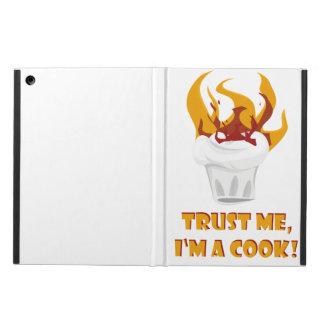 Trust me i'm a cook! iPad air case