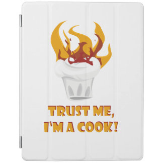 Trust me i'm a cook! iPad cover